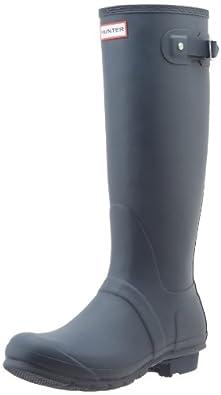 Hunter Original Tall Welly Boot,Navy/Navy,Women's 5 M/Men's 4 M