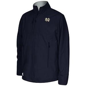 adidas Notre Dame Fighting Irish Primary Logo Full Zip Jacket - Navy Blue by adidas