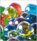 国産ガラスのビー玉50セット オーロラカラーマーブル(ミックス)25mm/約50個入 日本製 Glass Marble