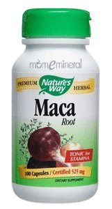Maca Root 525 mg 100 Capsules by Nature's Way