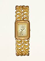 Guess Nature-inspired Chain Links Ladies Watch Tort U11660L1