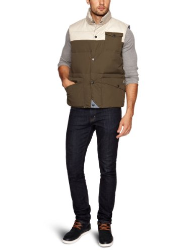 Weekend Offender One Punch Men's Gilet Army XX-Large