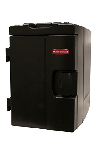 Rubbermaid Commercial Products FG940888BLA CaterMax 100 Insulated Food Service Pan Carrier, 94 quart Wheeled, Black (Commercial Food Carrier compare prices)