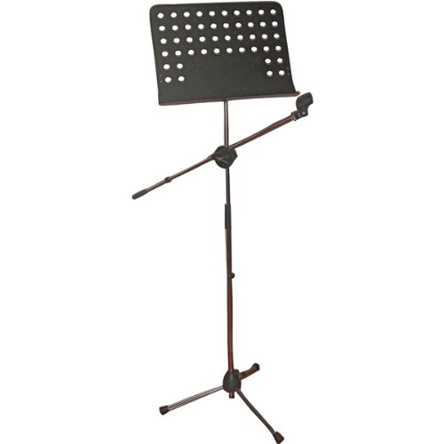 Pyle Genuine Heavy-Duty Tripod Microphone And Music Stand