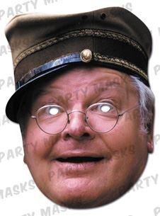 Benny Hill Celebrity Card Mask, Mask-arade, Impersonation/Fancy Dress