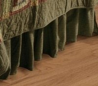 Tea Cabin Queen Bed Skirt