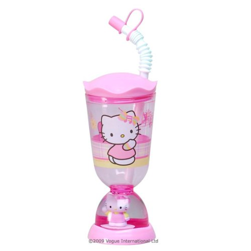 Vogue Hello Kitty Glitter Dome Bubble Glass