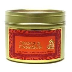 ORANGE & CINNAMON – Shearer Scented Candle – TIN – 20 Hours