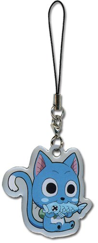 Fairy Tail Happy Cellphone Charm - 1