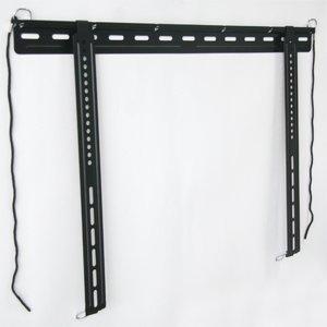"Loctek 42""- 65"" Flush Ultra-Slim Low Profile Tv Wall Mount Bracket For Led Tv Thin Lcd Tv, Max 100Lbs, Psw005Lf"