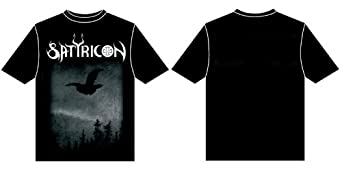 Satyricon - Dark Medieval Times T-Shirt , LARGE