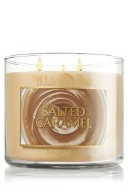 Bath & Body Works Salted Caramel 3 Wick Scented Candle 14.5 Oz at Sears.com