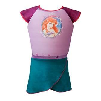 Deluxe Swim Shorty Little Mermaid (small medium (2-3 years))