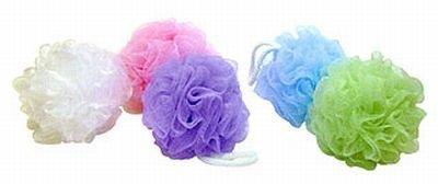 Body Benefits Bath Sponges Net Assorted (6-Pack)