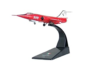 F-104 Starfighter diecast 1:100 model (Amercom SL-14)