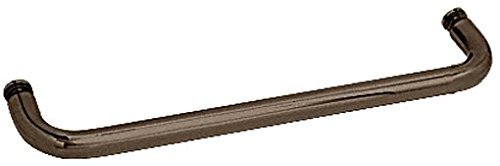 "Crl 24"" Oil Rubbed Bronze (Bm Series) Single-Sided Towel Bar Without Metal Washers back-544656"
