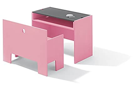 Wonder Box Richard Lampert Furniture Table and Bench in Light Pink