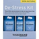 TISSERAND DE-STRESS KIT - SHOWER & BATH OIL - ROLLER BALL & BODY OIL