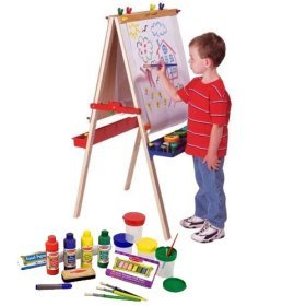 Buy Melissa & Doug Deluxe Standing Easel & Companion Supply Set Bundle