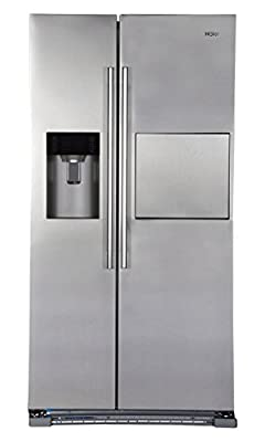 Haier HRF-628AF6 Frost-free Side-by-Side Refrigerator (628 Ltrs, Stainless Steel)
