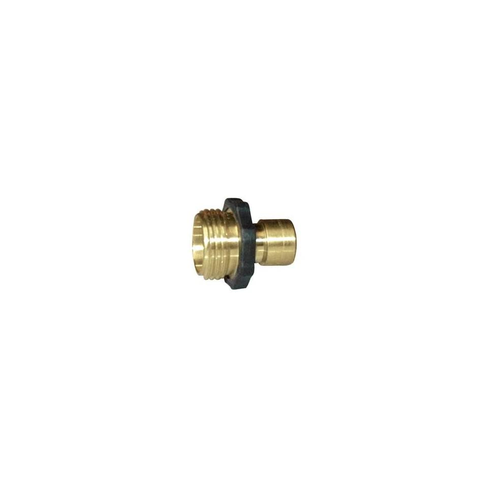 Orbit Quick Connect Brass Hose Connector, Male Everything