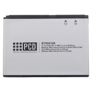 PCD TExtended8030 Standard 920mAh Lithium Battery Razzle Pantech Jest PCD TXT8040 cell phone model