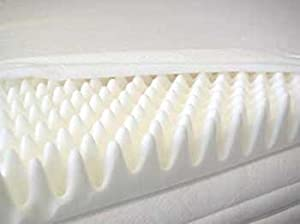 "2"" Double Size Memory Foam Mattress Topper (Profile/Egg Shell)"
