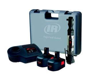 Ingersoll Rand R380-Kl2 Iqv 14.4-Volt 3/8-Inch Ratchet Wrench Kit