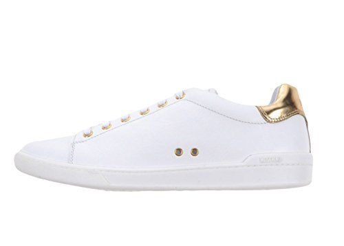 Moschino Scarpe Sneaker Uomo Mens Leather Vitello,44