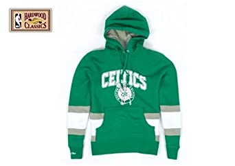 Boston Celtics Mitchell & Ness Blocking Pullover Hoody by Mitchell & Ness