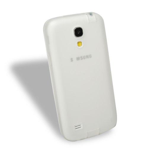 YOKIRIN Weiß TPU Weich Glänzend Cover Hülle für Samsung GALAXY S4 Mini I9190 Schutzhülle Tasche Handytasche Zubehör