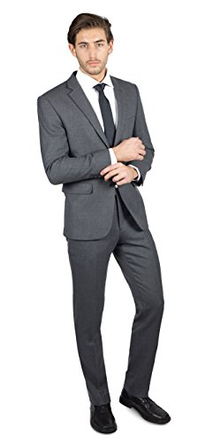 Alain-Dupetit-100-Wool-Mens-Two-Button-Suit-in-Many-Colors
