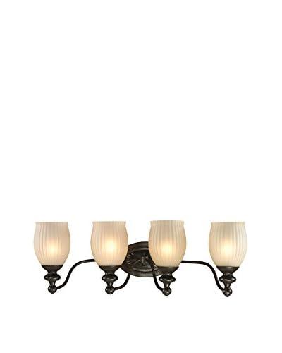 Artistic Lighting Park Ridge 4-Light LED Bath Bar, Oil Rubbed Bronze