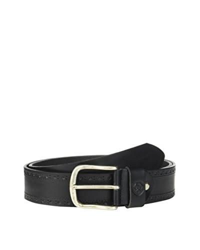 Heritage Cintura Pelle B-Caron  [Nero]