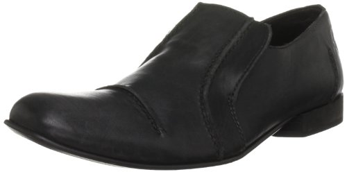 Fly London Men's Maurico Leather Black Shoe P142209002 10 UK