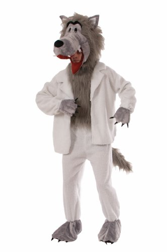 Forum Novelties Men's Wolf In Sheep's Clothing Plush Mascot Costume