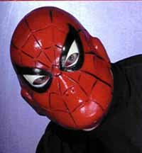 Spiderman 2 Costume Mask Spiderman Mask Vinyl Spiderman Mask 9919