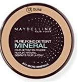 Gemey Maybelline - Pure Mineral Powder Foundation - 73 Dune
