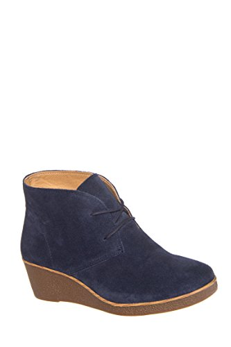 Junes Low Wedge Bootie