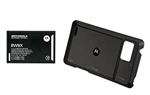 OEM BW8X Motorola Droid Bionic XT875 Extended Battery 2760mah and Extended door cover