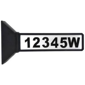 Coleman Cable 91919 Mr 2 Sided Address Sign (91919)