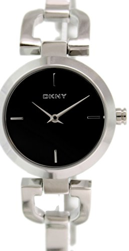 DKNY Black Dial Stainless Steel Bracelet Ladies Watch NY8541