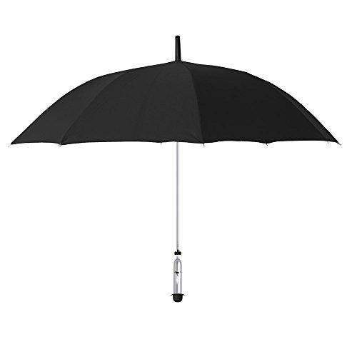 OPUS ONE(オーパスワン) 新しい天気情報を提供するスマート傘 JONAS - Black サドルブラック OP001