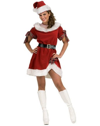 Christmas Holiday Naugthy Womens Costume