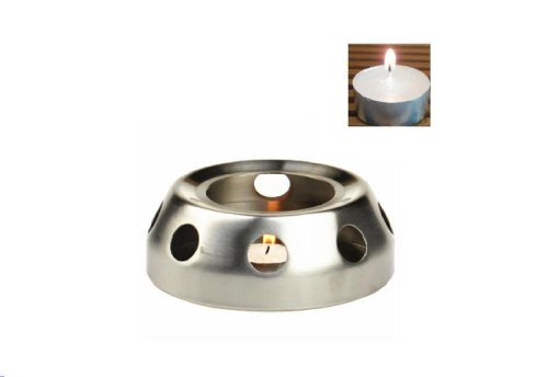 Yeme Stainless Steel Candle Lit Teapot Warmer Base -A (Teapot Warmer Candle compare prices)