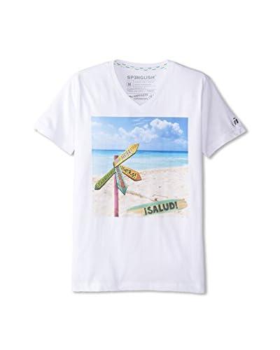 Spenglish Men's Salud V-Neck T-Shirt
