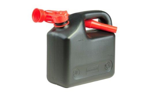 Transport-Kraftstoff-Kanister 3 L, schwarz, HD-PE