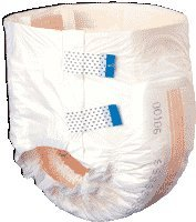 Tranquility 2120 SlimLine Disposable Diaper Brief (Small) 10/Bag