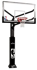 Buy Spalding Arena View In-Ground Basketball System with Acrylic Backboard, 72-Inch by Spalding