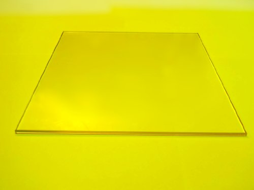 Borosilicate Glass Plate 3D Printer 214 x 200 x 3.3 mm (8.4 x 8 x .13 inches)